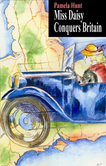 Miss Daisy Conquers Britain - cover